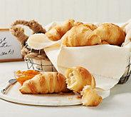SH 12/4 Authentic Gourmet 65 ct. Classic Butter Croissants - M55147