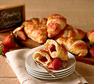 Authentic Gourmet (18) Imported French Straw. Croissants - M55347