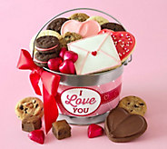 Cheryls I Love You Treats Pail - M115148