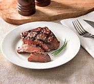 Rastelli Market Fresh Black Angus Flat Iron Steaks 12/4 oz - M115448