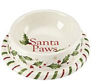 Lenox Holiday Small Pet Bowl - M115848
