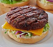 Guiltless Cuisine (18) 4 oz. Veggie Burgers - M50748