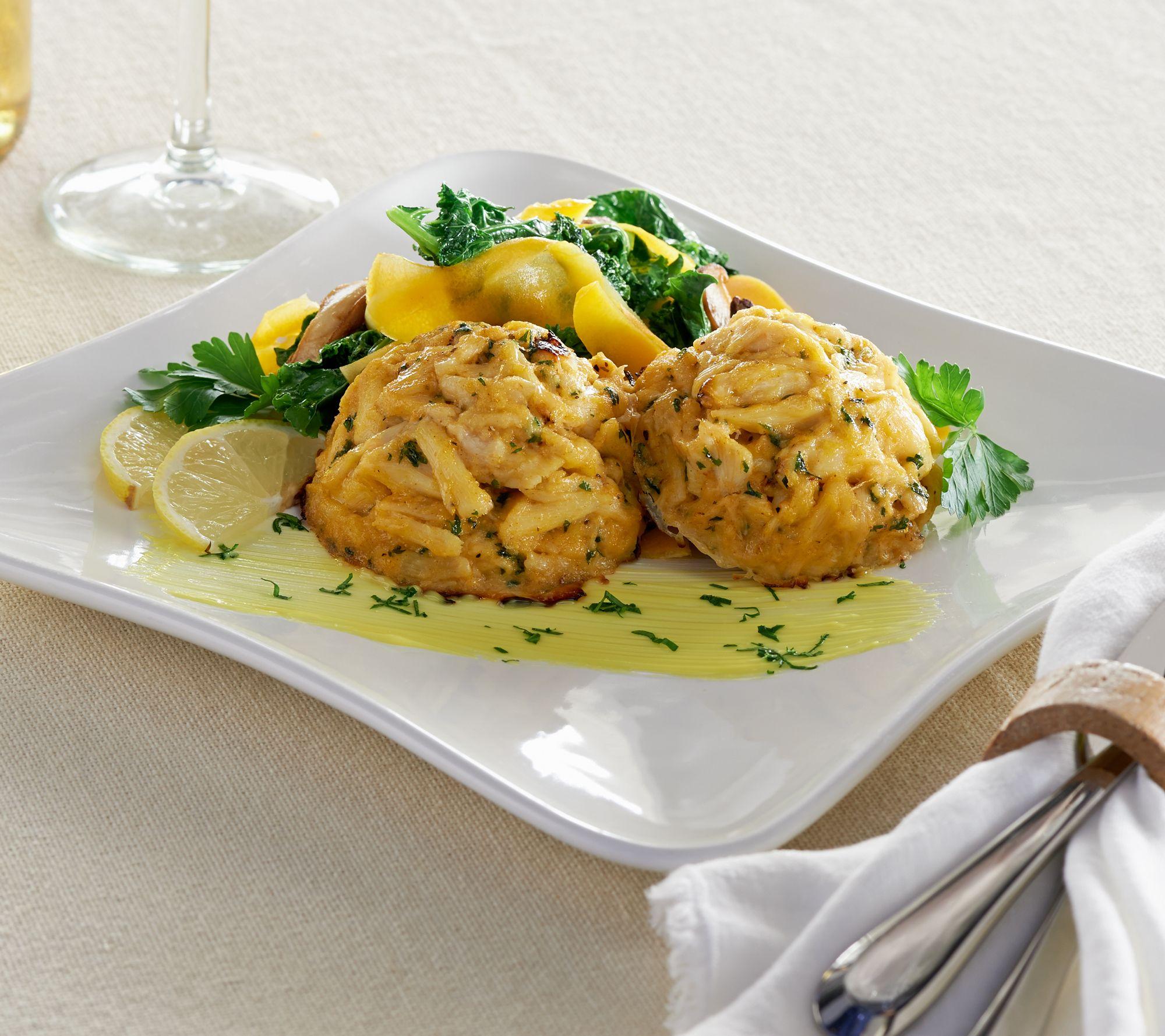 Blue apron qvc - Egg Harbor 10 4 Oz Jumbo Lump Crab Cakes Auto Delivery
