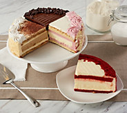 Juniors 6lb. Cheesecake & Layer Cake Sampler - M55148