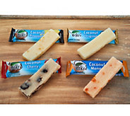 Oskri Four Flavor (20) Organic Coconut & Fruit Bar Sampler - M55348