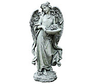 Josephs Studio 15-3/4 Angel w/ Bowl Bird Feeder by Roman - M114549
