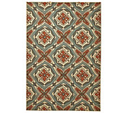 Scott Living 5x7 Medallion Design Indoor/Outdoor Rug - M48549