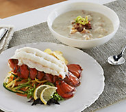 Lobster Gram (12) 5-6 oz. Tails w. Choice of (6) 18 oz. Chowder/ Bisque - M49849
