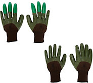 Honey Badger Garden Gloves with Digging Claws Combo Pack - M50049