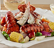 Greenhead Lobster (12) 4-5 oz. Tails with Kates Butter - M51749
