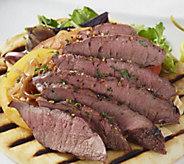 Rastelli Market Fresh (16) 6 oz Black Angus Flat Iron Steaks - M55349