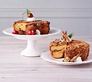 My Grandmas (2) 28-oz Cinnamon and Cherry Chocolate Cakes - M58049