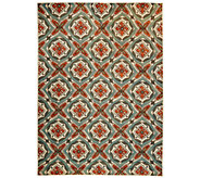 Scott Living 7x10 Medallion Design Indoor/Outdoor Rug - M48550