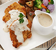 Heartland Fresh (10) 5 oz. Chicken Fried Chicken & Gravy Auto-Delivery - M54950