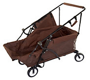 As Is ATLeisure 51 Collapsible Utility Cart w/ Carry Case - M120151