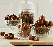 Peanut Shop of Williamsburg (4) Chocolate Covered Nut Assortment - M47651
