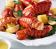 Greenhead Lobster (18) 4-5 oz. Lobster Tails with 1lb Butter - M55551