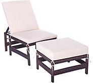 Barbara King Modular Lounge Chair with Ottoman - M51952