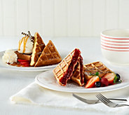 Prince Waffles (18) 2.82 oz. Belgian Stuffed Waffles Assortment - M50453