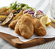 Anderson Seafoods (2) 2 lb. Boxes of Breaded Cod Filets - M53853