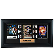 Star Wars A New Hope 40th Anniversary Limited Ed. Film Cell - M55354