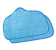 SteamFast Replacement Microfiber Pads w/Multi-Purpose Steamer - M111655