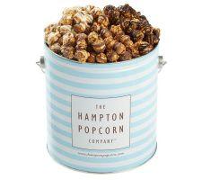 Hampton Popcorn Chocolate Lover's Dream 1-Gal Tin w/3 Flavors
