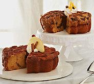 My Grandmas (2) 28 oz Apple and Pumpkin Chocolate Chip Coffee Cakes - M51455
