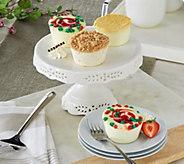 Juniors Set of 18 Seasonal Mini Cheesecakes Auto-Delivery - M53555