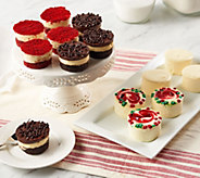 SH12/4 Juniors (32) Individual Holiday Cheesecakes & Layer Cakes - M55155