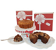 Ships 11/1 My Grandmas (2) Choc Coconut & Cinnamon Cakes - M115956
