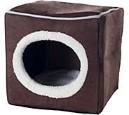 PETMAKER Cozy Cave Enclosed Cube Pet Bed - M116456