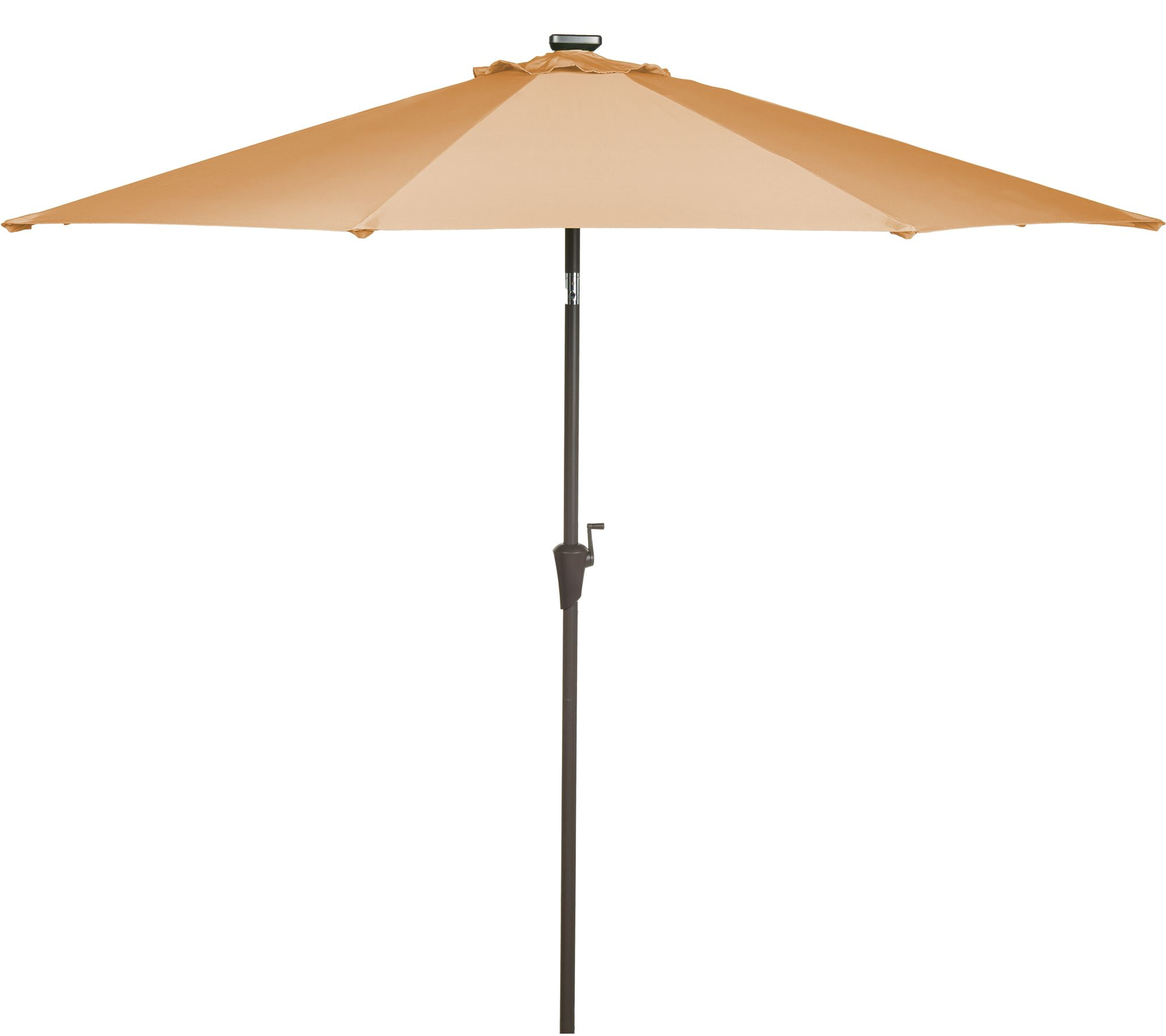 Umbrella covers for patio umbrellas - Atleisure 9 Starlight Solar Market Umbrella With Cover M41456