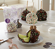 Mrs. Prindables 12 Individual Size Holiday Jingle Apples Auto-Delivery - M53756