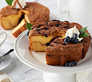 Ships 4/3 My Grandmas (2) Blueberry and Cinnamon Cakes Auto-Delivery - M54456