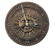 Sun Face Clock - M101457