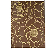 Barbara King Bloom 8x11 Reversible Outdoor Mat by PatioMats - M46357