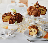 My Grandmas (2) 28 oz. Cinnamon Walnut & Granny Apple Coffee Cakes - M51457