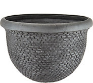 Scott Living 20 Tweed Basket Planter - M52457
