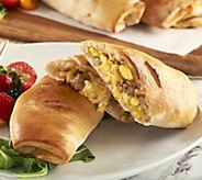 Annabelles Kitchen (10) 6 oz. Breakfast Stromboli - M55557