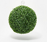 Barbara King 14 Faux Boxwood Topiary Sphere - M55957