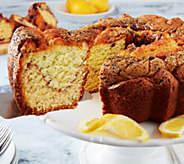 My Grandmas 10 Lemon Poppy Coffee Cake - M110258
