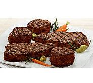 Kansas City Steak (2) 12oz  Strip Steak & (6) 6oz Filet Migno - M112858