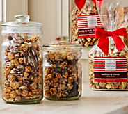 Hampton Popcorn Set of 4 Large Bags of Gourmet Candy Popcorn Auto-Delivery - M49958
