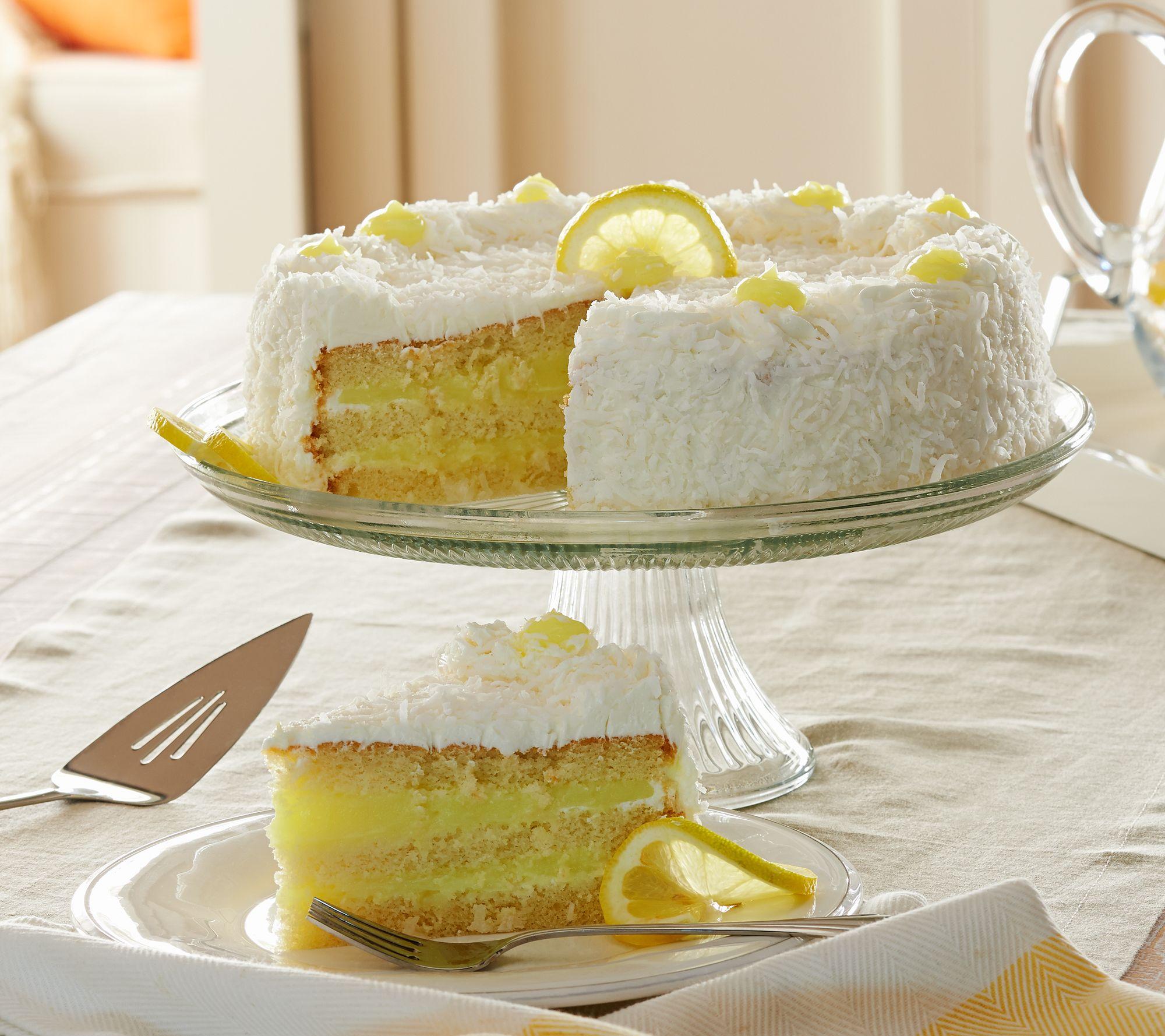 Juniors Lb Lemon Coconut Layer Cake