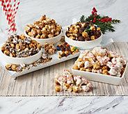 SH 12/4 Hampton Popcorn Set of (8) Bags of Holiday Popcorn - M55358