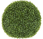 Barbara King 16 Faux Boxwood Topiary Sphere - M55958
