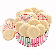Cheryls Baby Girl Gift Tin with 16 Frosted Coo kies - M115059
