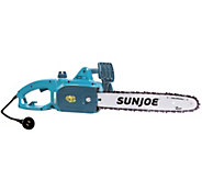 Sun Joe 14 9-Amp Electric Chain Saw w/ Accessories - M48159