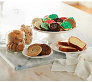 Ships 12/5 Cheryls 72 Pc Holiday Bakery Sampler Auto-Delivery - M51659